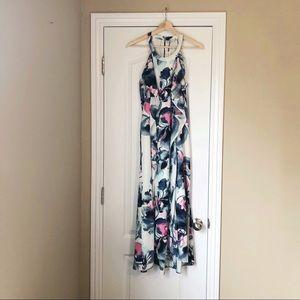 NWT Alice + Olivia Floral Flutter Maxi Dress